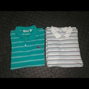 Lacoste SZ XL / Calvin Klein SZ L polo shirt